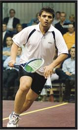Head Squash Professional Shahid Zaman Khan